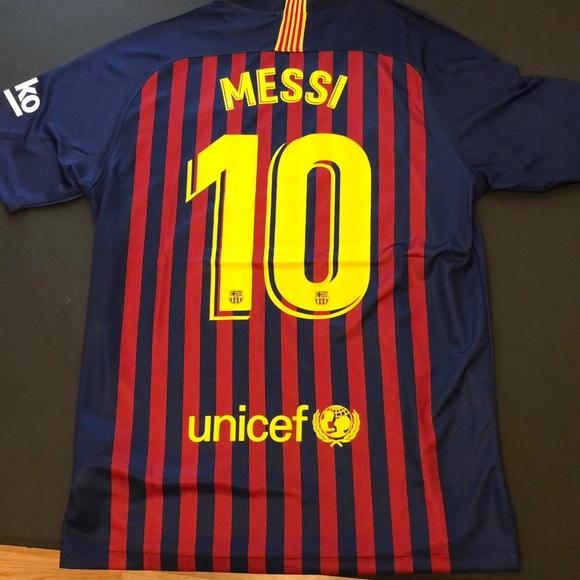 online store 7ae85 d59b2 Fc Barcelona Messi 10 2018-2019 Jersey NWT